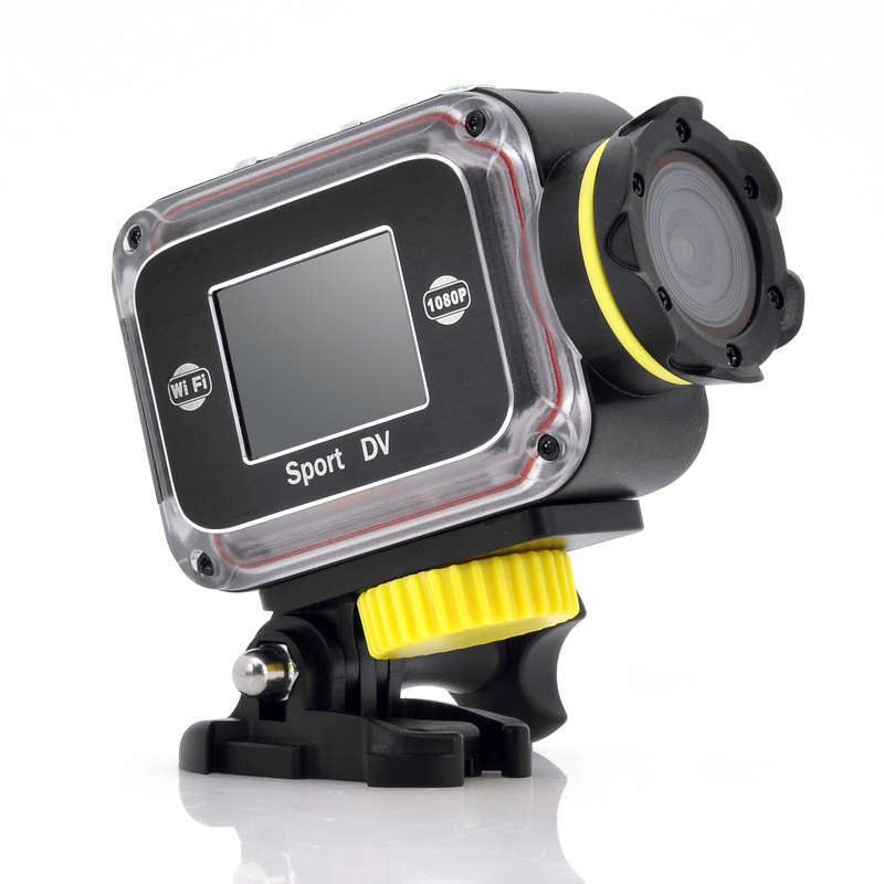 Wholesale Adapt - Wi-Fi Full HD Waterproof Action Camera (1080p, 1.5 Inch