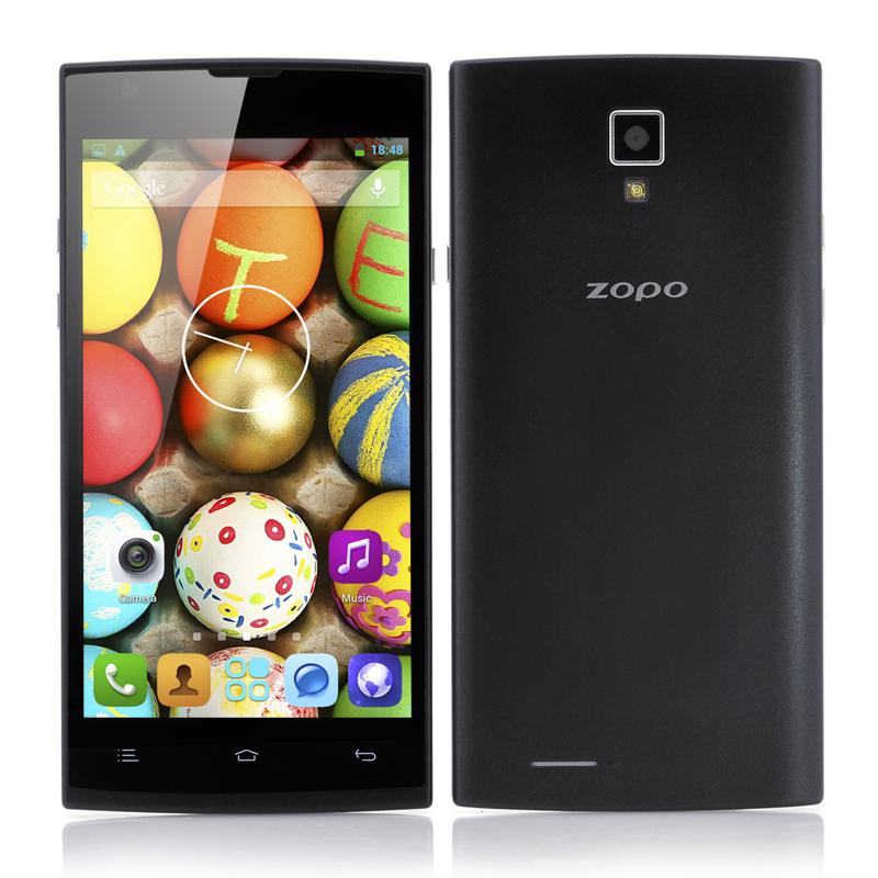 Wholesale ZOPO ZP780 5 Inch QHD Quad Core Android Phone (1.3GHz CPU, 1GB RAM, 4GB)