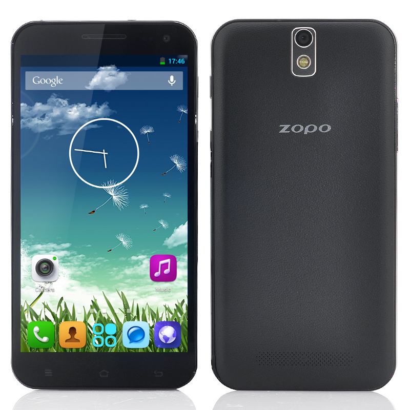 Wholesale ZOPO ZP998 5.5 Inch Octa Core Android Phone (FHD 1920x1080, 1.7GHz CPU, 2GB RAM, 16GB ROM, Black)