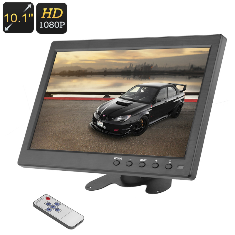 Wholesale 10.1 Inch TFT LCD Screen with Remote Control and Speaker (1280x8