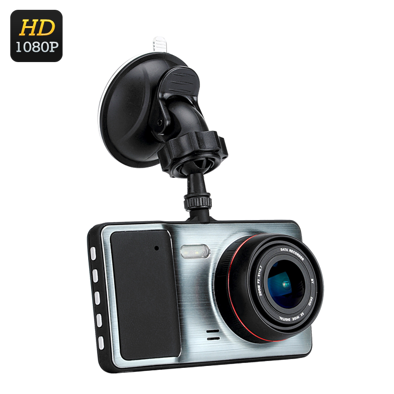 Wholesale 1080P HD Car DVR (170 Degree Lens, 4 Inch LCD, Motion Detection,