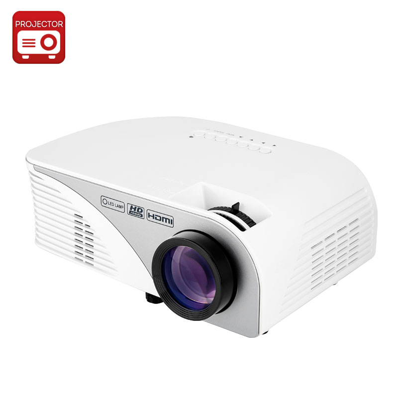 Wholesale 1200 Lumen LED Projector (1080p, 800x480, 15000: 1, 30 to 120 Inches, 4 Inch LCD TFT Display)