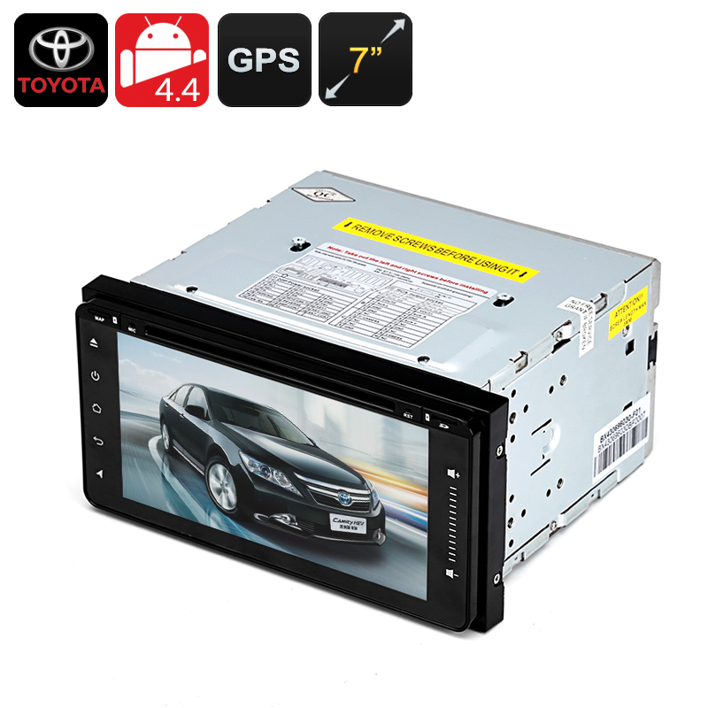 Wholesale 2 DIN 7 Inch Android Car DVD Player for Toyota (GPS, Wi-Fi, Bluetooth, Radio, Quad-Core CPU)