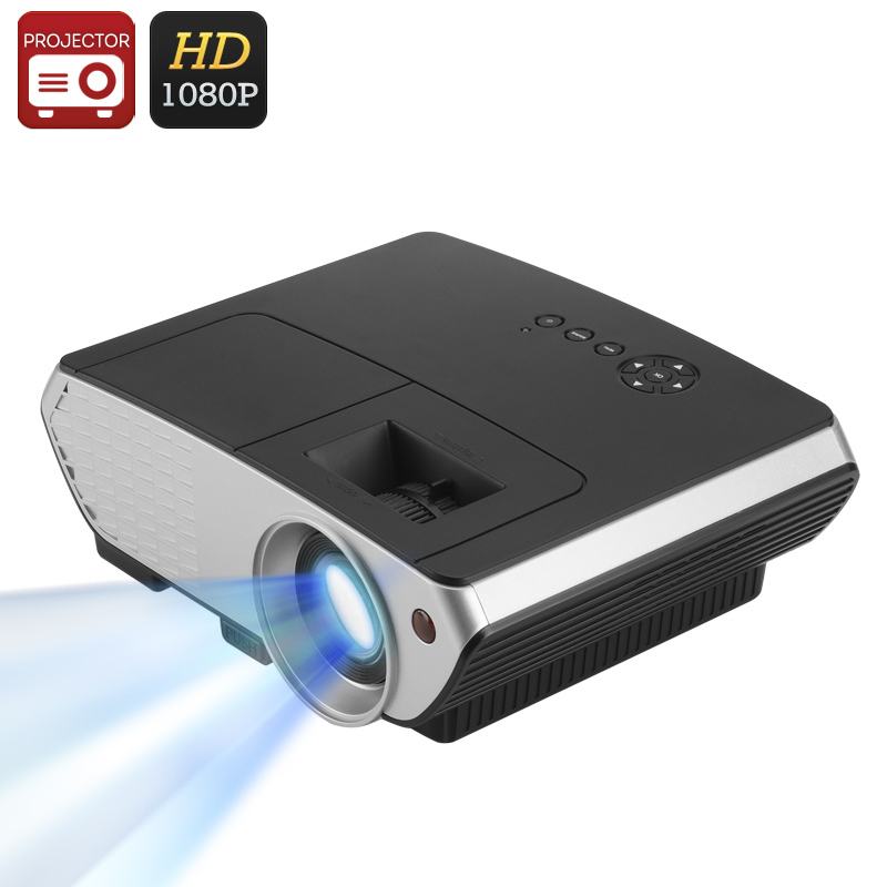 Wholesale 2000 Lumen 1080p LED Projector (1500: 1, 50 - 140 Inches, Keystone Correction, HDMI, VGA, USB)