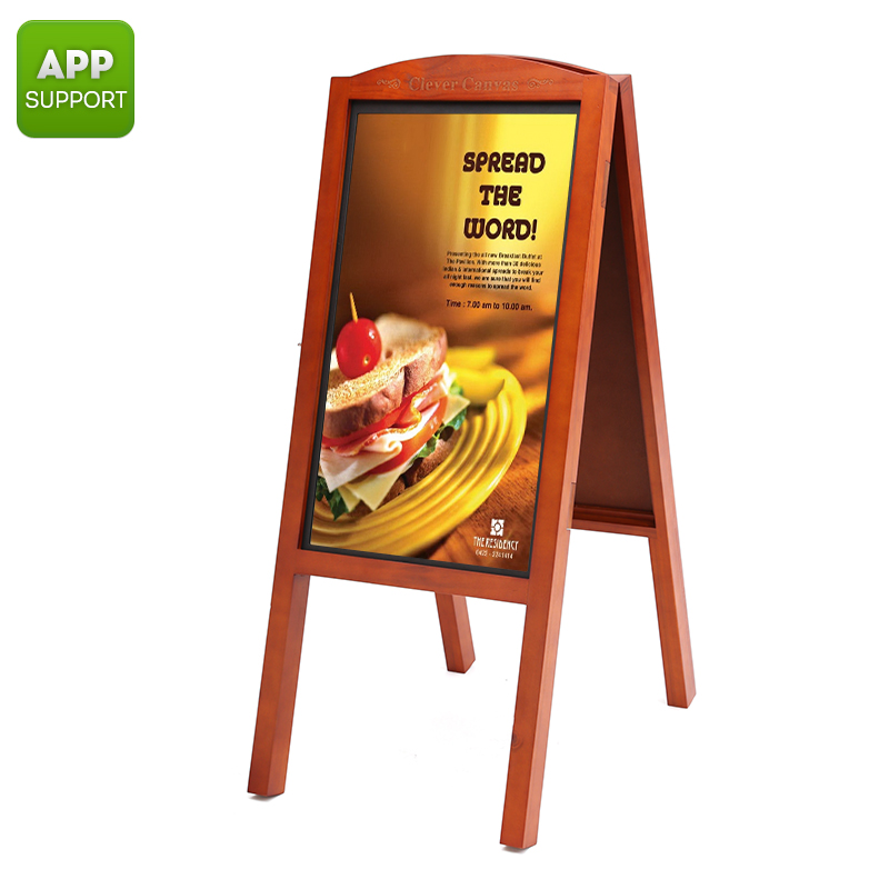 Wholesale 27 Inch Full HD Wi-Fi Message Sign Display Board for iOS / Android