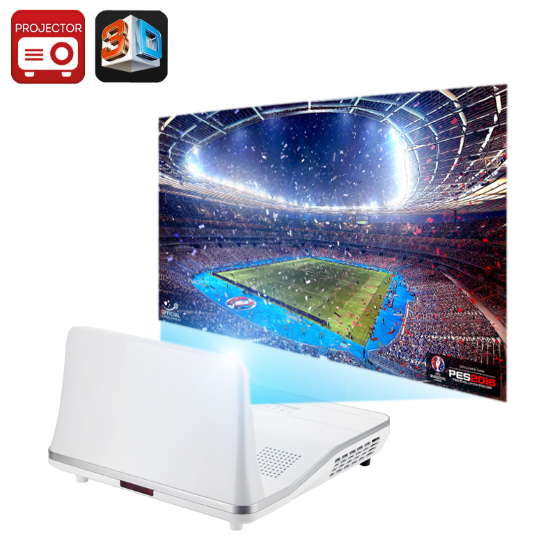 Wholesale 301 Max Short Throw 2000 Lumen Android Projector (1080p, 12000: 1, Keystone Correction)