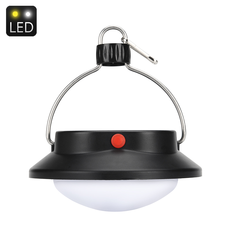 Wholesale 360 Lumen Solar Powered LED Camp Light (60 LEDs, 1200mAh, Night Sensor)