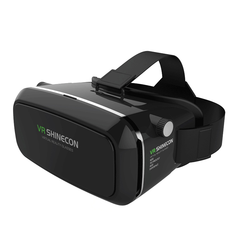 Wholesale Padded 3D VR Glasses with Adjustable Focal Depth for 3.5 To 6.0 Inch Smartphones