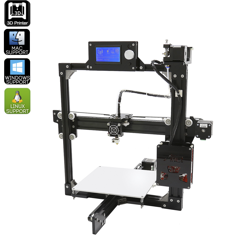 Wholesale ANET A2 DIY 3D Printer Kit (High Precision, Metal Frame, 220x220x220mm)