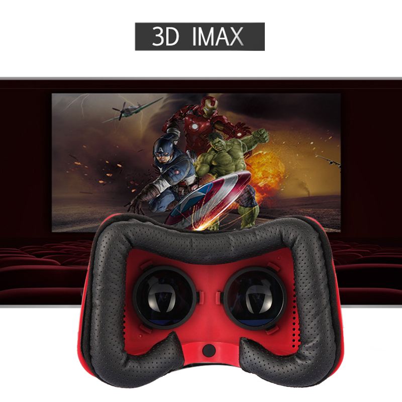 Wi-Fi Android 3D VR Glasses with 5 Inch HD Screen and