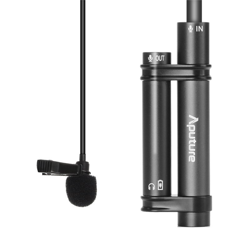 Aputure A.lav Omnidirectional Lavalier Microphone with 3.5mm 1/8 Inch Output