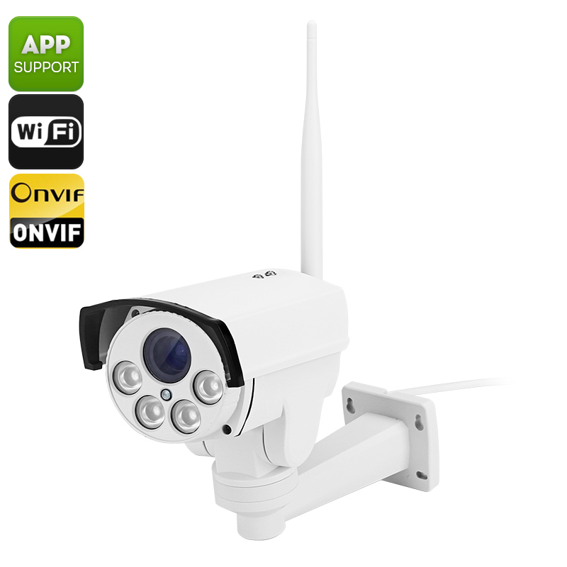 Wholesale B87W Outdoor Wireless IP Camera with Android + iOS Control (IP66 Waterproof, Wi-Fi, 50M Night Vision, PTZ, ONVIF 2.0)
