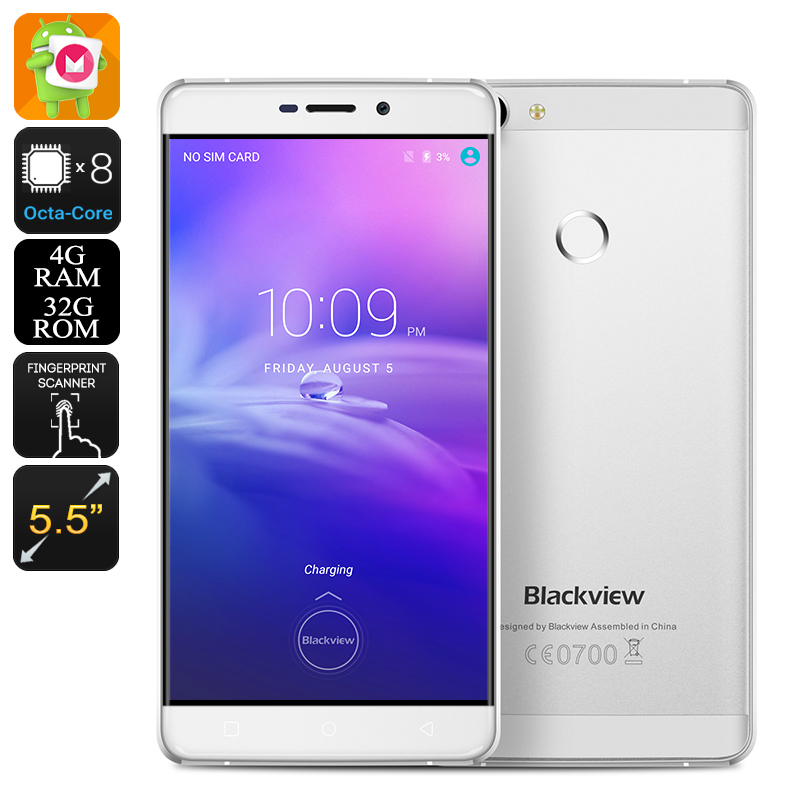 Wholesale Blackview R7 5.5 Inch Android 6.0 Smartphone (4G, Octa Core CPU,