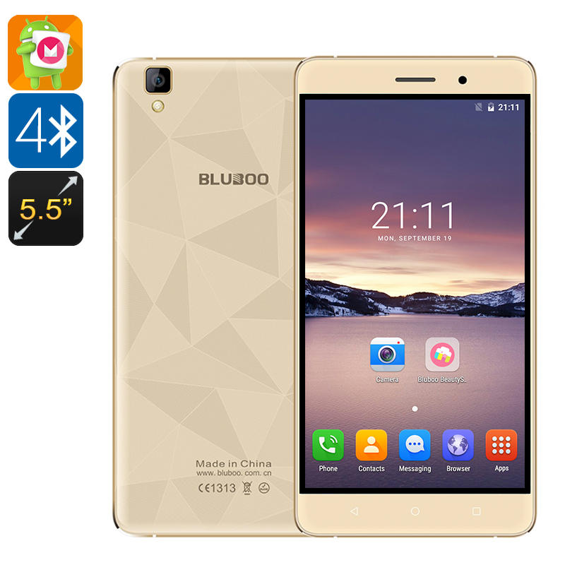 Wholesale Bluboo Maya 5.5 Inch Android 6.0 Smartphone with Aluminum Case a