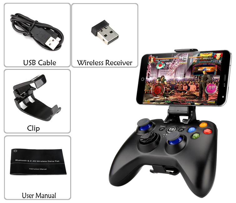 images/electronics-2017/Bluetooth-Game-Pad-2-Analogue-Sticks-D-Pad-8-Action-Buttons-400mAh-Battery-Bluetooth-40-plusbuyer_9.jpg