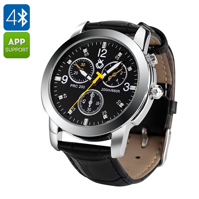 Wholesale Quartz Style Waterproof Bluetooth Sport Watch for Android/iOS (P