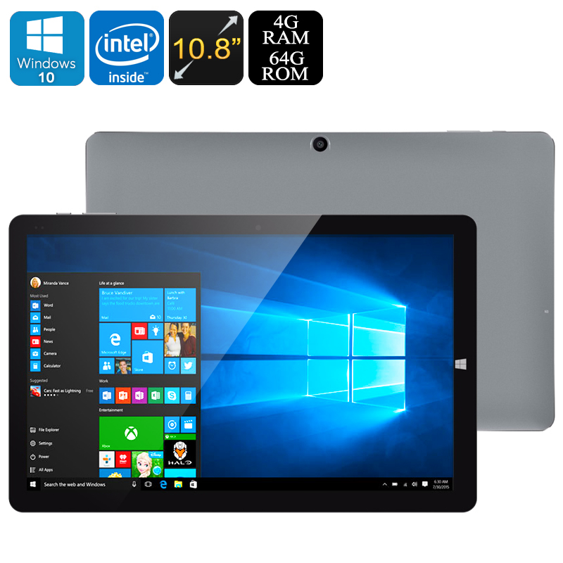 Wholesale CHUWI HI10 Plus 10.8 Inch Tablet PC (Windows 10 + Android, Z64Bi