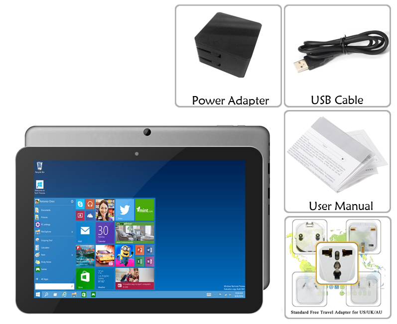 Chuwi Hi12 12 Inch Tablet PC with 11000mAh Battery (Windows