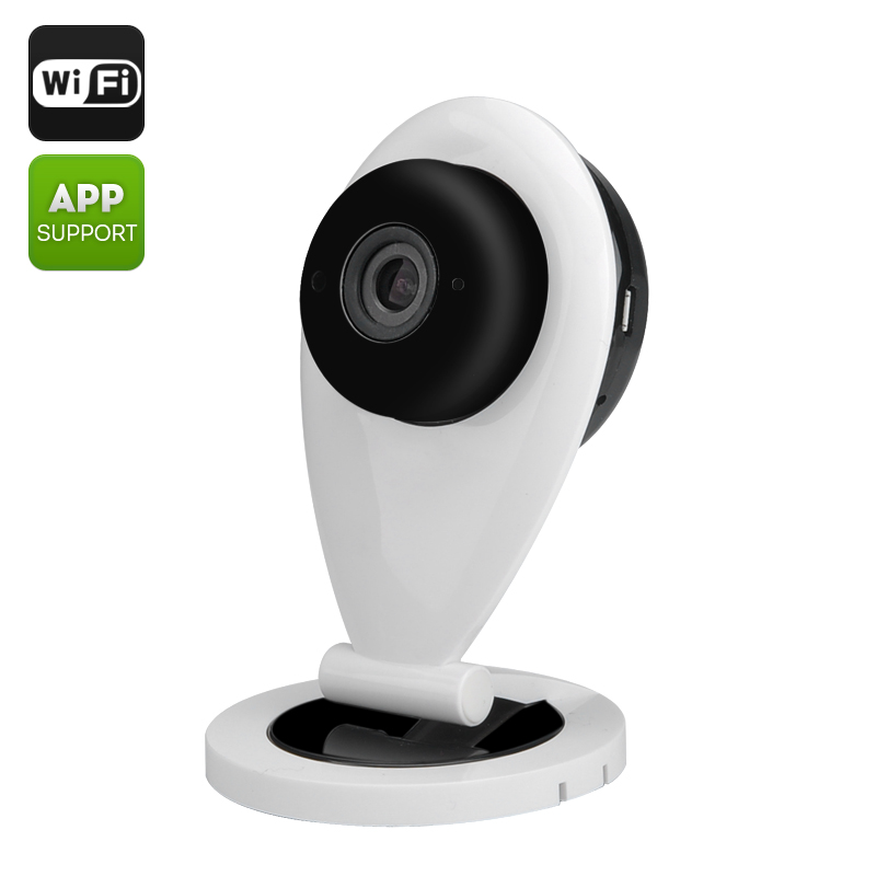 Wholesale Eye Sight ES-IP840 Mini IP Camera (Wi-Fi, 720P, 1/4 Inch CMOS, 0.8 Lux, Mic + Speaker, Phone App, Motion Detection)