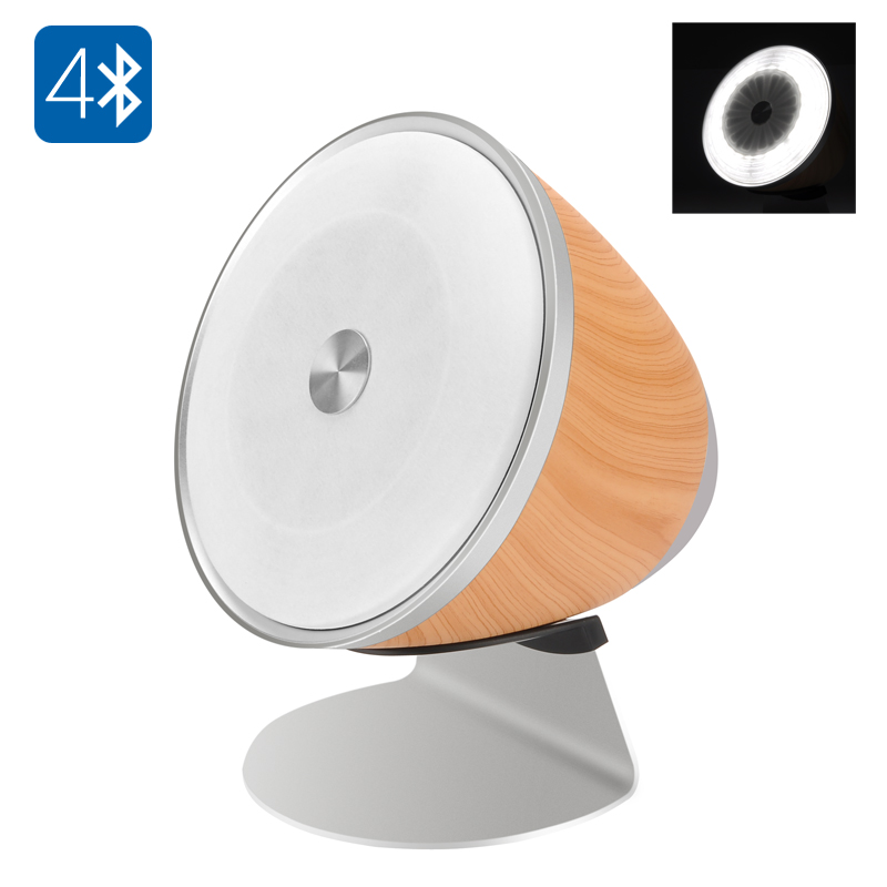 Wholesale FACEFOU ML350 Bluetooth LED Lamp Speaker (10000mAh, 20W Speaker + 15W Speaker, 5W Lamp)