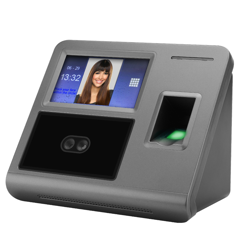 Wholesale 4.3 Inch Biometric Security Time Attendance System with Fingerprint and Facial Recognition