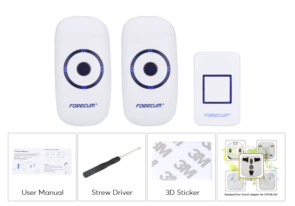 images/electronics-2017/Forecum-8F-Wireless-Doorbell-300-Meter-Transmission-Range-Plug-And-Play-4-Volumes-36-Tunes-Energy-Sufficient-plusbuyer_7.jpg