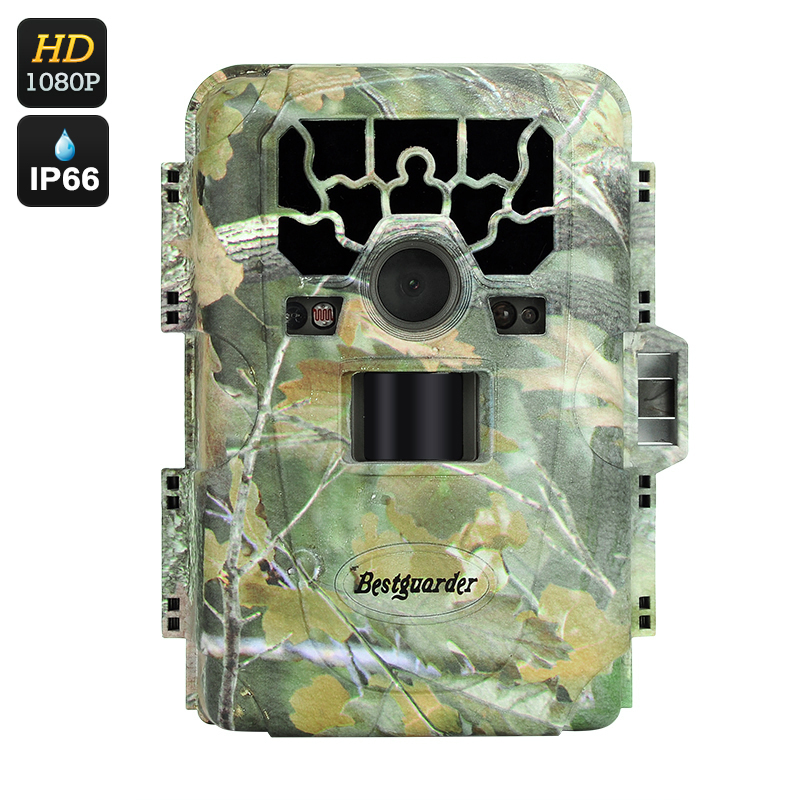 Wholesale Full HD 1080P Hunt Trail Camera (12MP, 6 Months Standby, 2 Inch Screen, Speaker + Mic, PIR, 23M Night Vision)