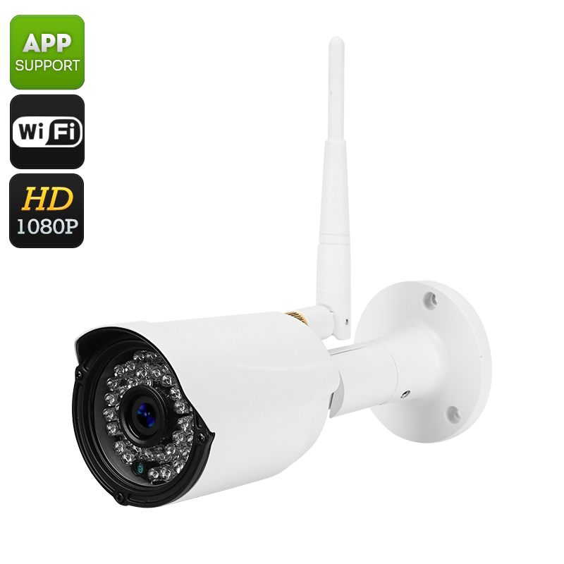 Wholesale Full HD 1080P Wi-Fi Wireless IP Camera (1/2.5 Inch CMOS, Motion Detection, 30M IR Night Vision, Phone View)