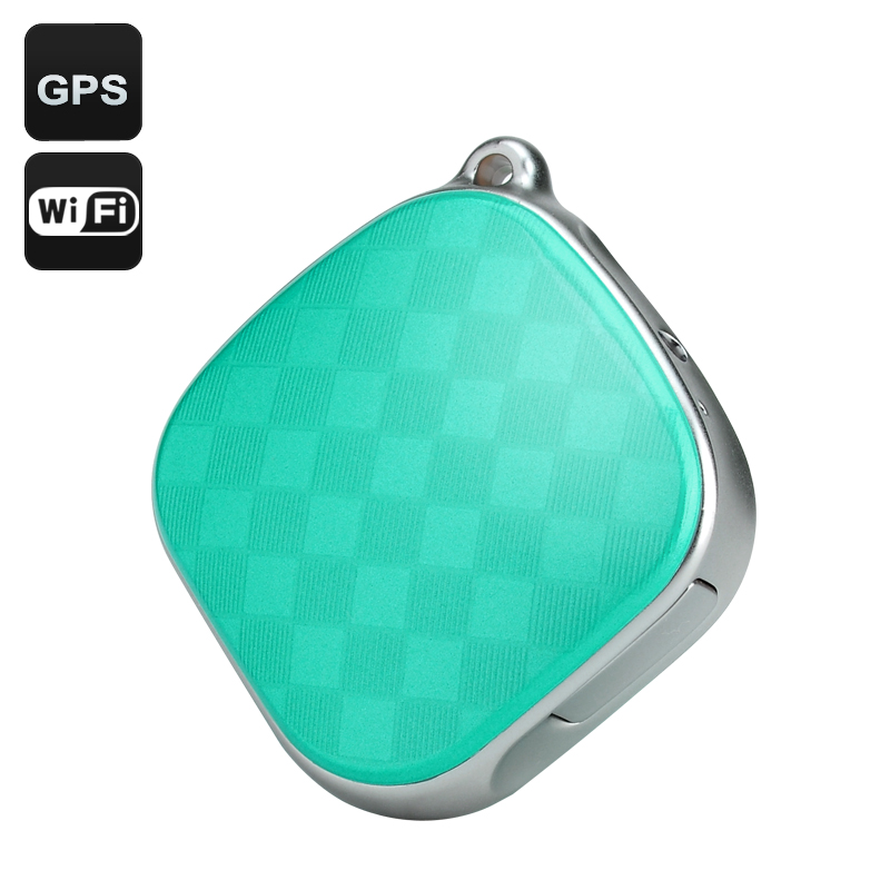 Wholesale Real Time GSM GPS Tracker + Locator for Kids/Pets (Wi-Fi, Two Way Audio, LBS, Geo Fence, SOS, Green)