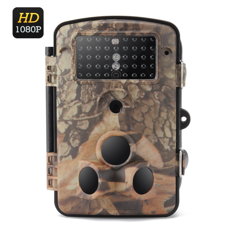 Wholesale Camo Cam - HD 1080p Trail Camera (IP65, PIR, 20M Night Vision, 1/3 Inch CMOS, 0.6 Sec Trigger, 2.4 Inch LCD)