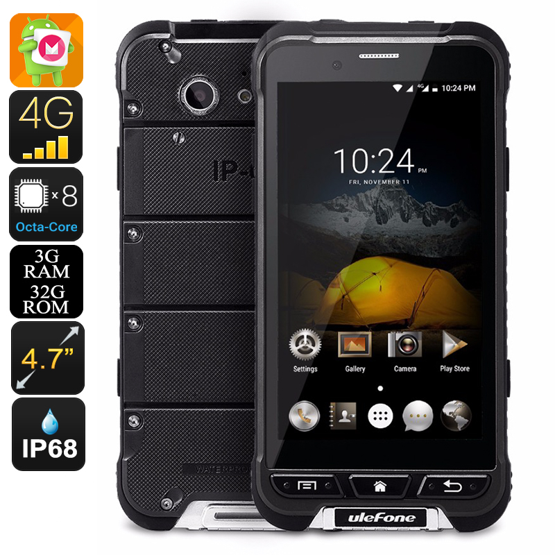 Wholesale Ulefone Armor IP68 Waterproof Rugged Android Smartphone (Octa Co