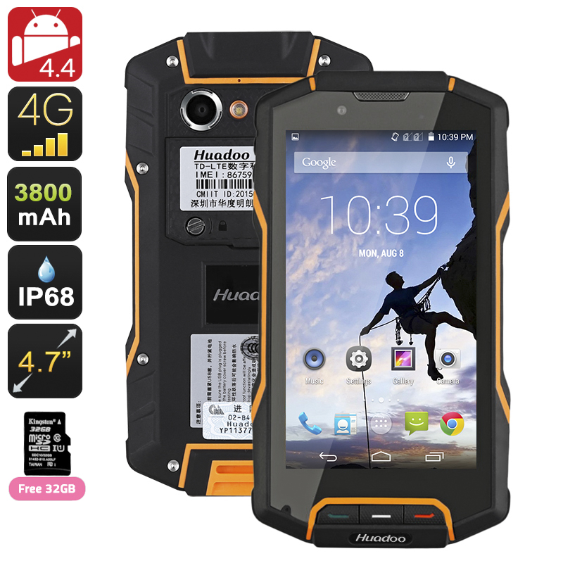 images/electronics-2017/Huadoo-HG04-Rugged-Smartphone-Quad-Core-CPU-Dual-SIM-4G-47-Inch-HD-Display-3800mAh-Battery-Orange-plusbuyer.jpg