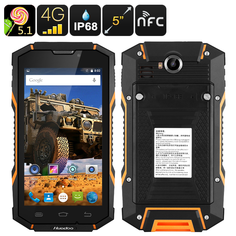 images/electronics-2017/Huadoo-HG06-Rugged-Smartphone-IP68-Android-OS-2-IMEI-4G-5-Inch-HD-Display-4500mAh-Quad-Core-CPU-OTG-NFC-Orange-plusbuyer.jpg