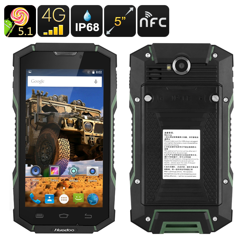 images/electronics-2017/Huadoo-HG06-Rugged-Smartphone-IP68-Rating-4G-Quad-Core-CPU-2GB-RAM-Android-OS-NFC-OTG-5-Inch-Display-Green-plusbuyer.jpg