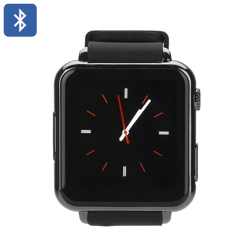 Wholesale Iradish Y6 Bluetooth Smart Watch Phone (Pedometer, Camera, Heart Rate Monitor, Black)