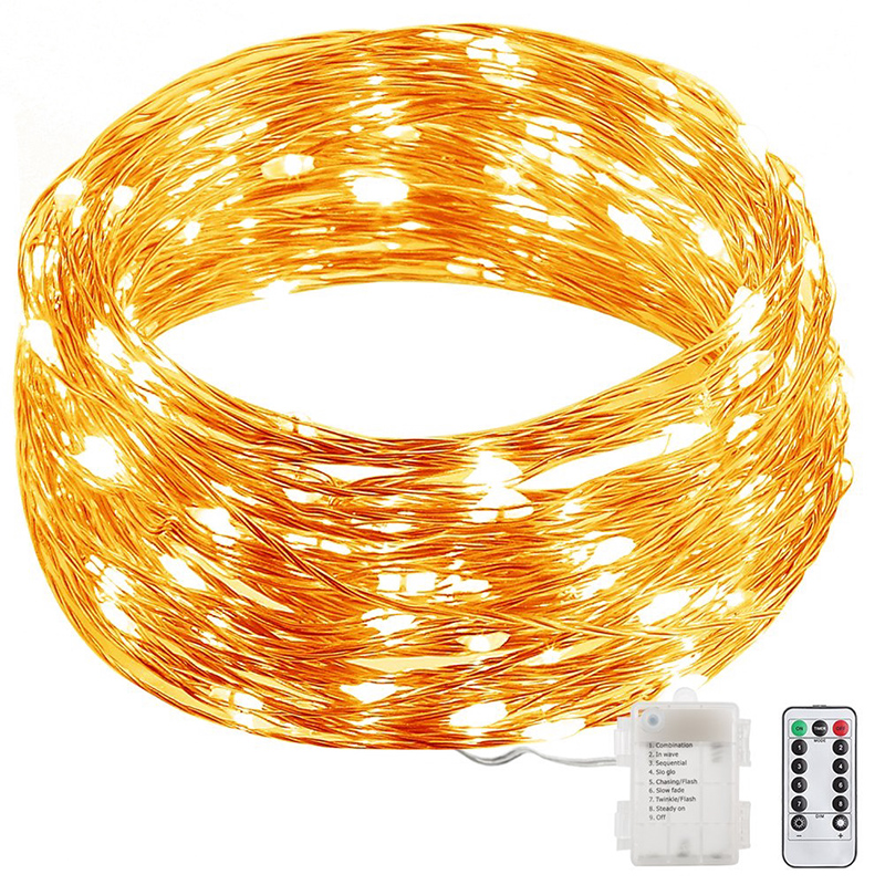 Wholesale Starry Night - Remote Control LED Light String (10 Meters, 100 LEDs, Warm White)