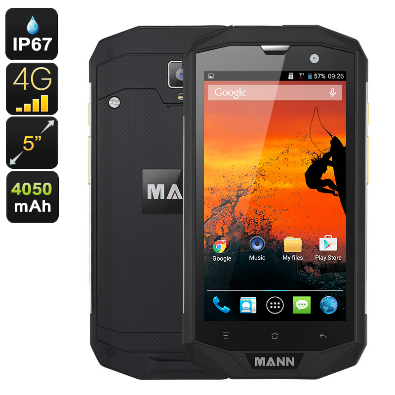 Wholesale MANN ZUG 5S+ Rugged 5 Inch Phone (IP67 Waterproof + Dust Proof,