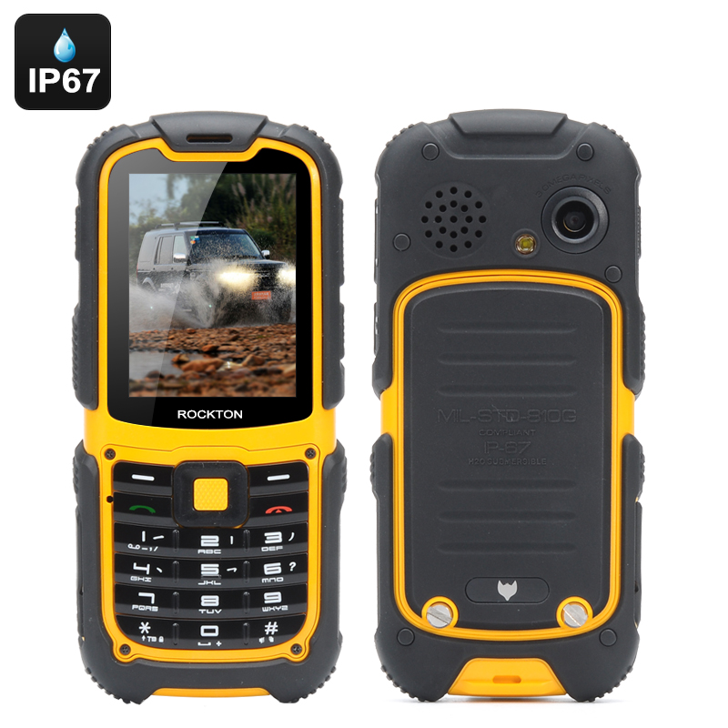 Wholesale MFox J1 Rugged Outdoor Phone (IP67 Waterproof, Altimeter, Barometer, Compass, Pedometer, Bluetooth)