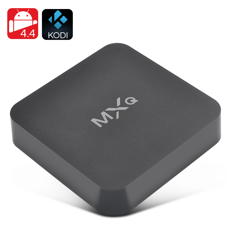 Wholesale MXQ Android TV Box Kodi Media Player (Quad Core CPU, 4x USB, H.2