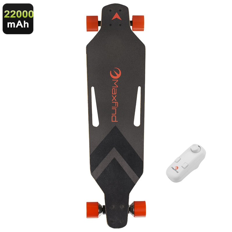 Wholesale MaxFind Electronic Skateboard with Wireless Remote Control (360W Motor, 28KM/h, 22000mAh)