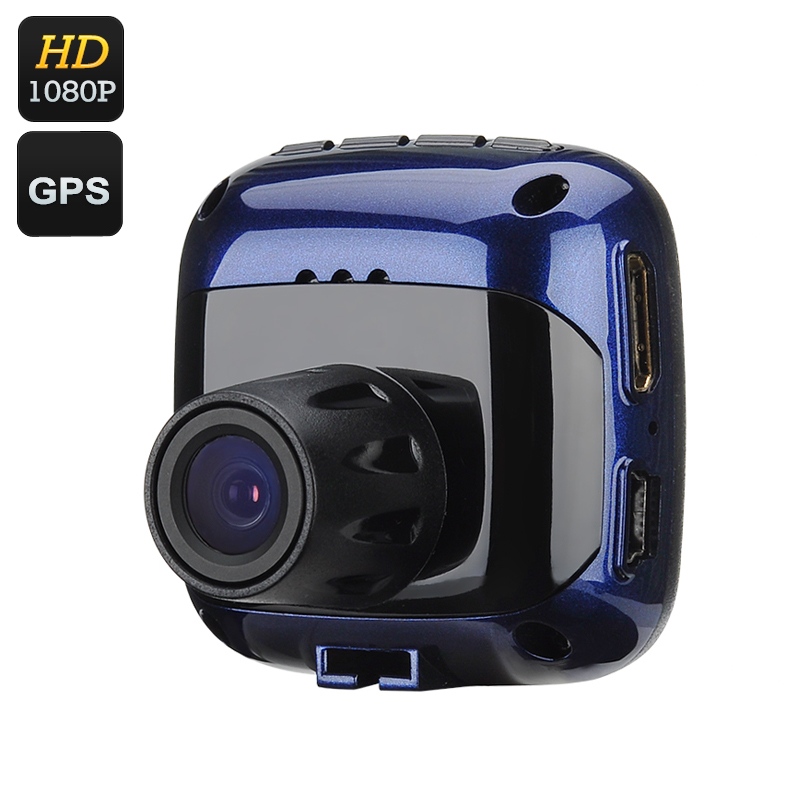 Wholesale Mini 1080P Car DVR (1/4 Inch CMOS, 120 Degree View, 1.5 Inch LCD Screen, Rearview Mirror, GPS, HDMI)