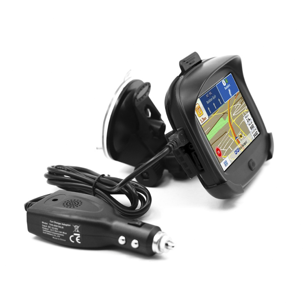 Motorcycle Navigation Systems : Ipx waterproof motorcycle gps navigator high accuracy