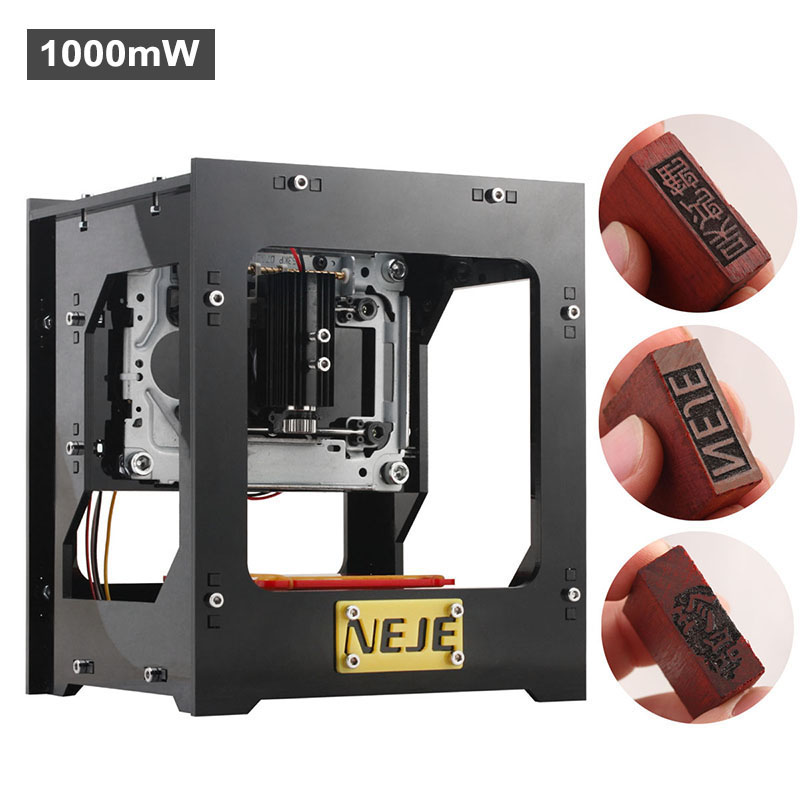 Wholesale NEJE DK-8-KZ Mini USB DIY Laser Engraver for Jewelry and Phone Case (High Speed, 38x38mm, Windows Custom)