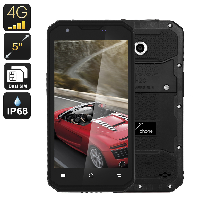 Wholesale NO.1 M3 Rugged 5 Inch Android Phone (4G Dual IMEI, 13MP, IP68 Wa