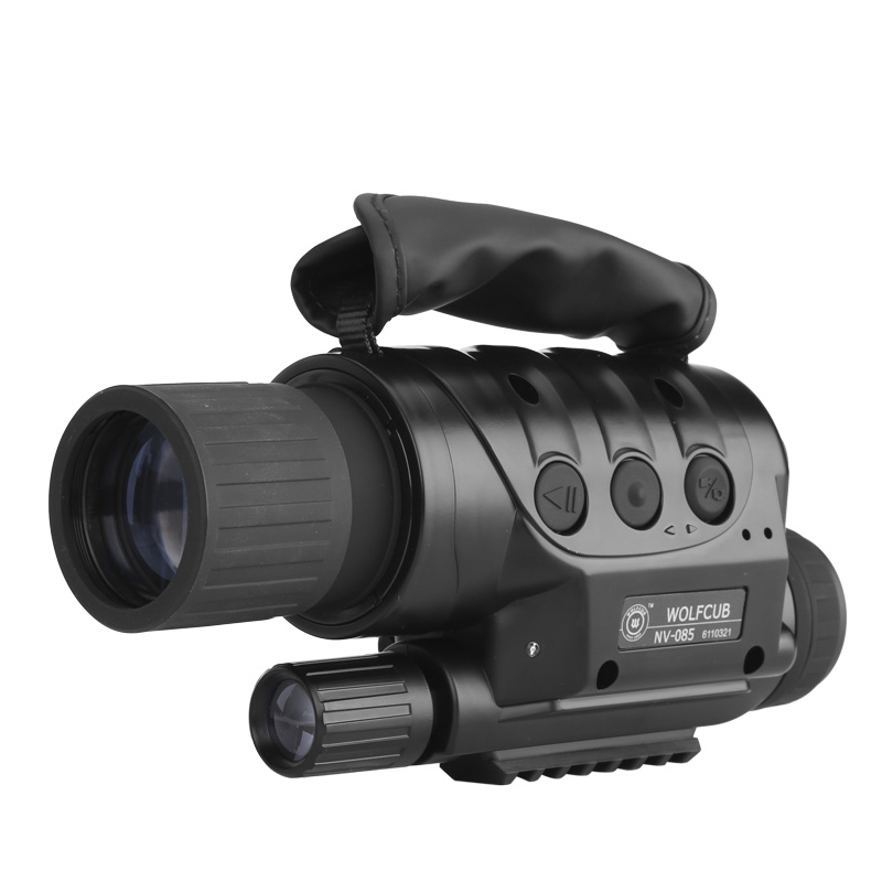 Wholesale NV-440D+ Night Vision Monocular with Recording Camera (4x Zoom, 560m Range, 1.3MP CCD, Weatherproof)