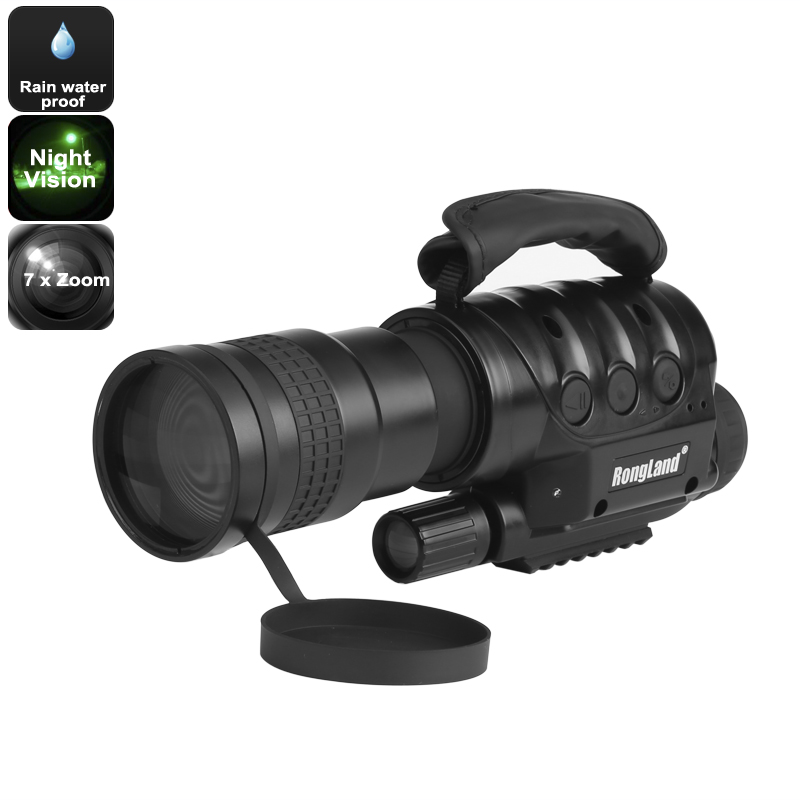 Wholesale Rongland NV-760D+ Night Vision Monocular with Recording Camera (7x Zoom, 1000m Range, Weatherproof)