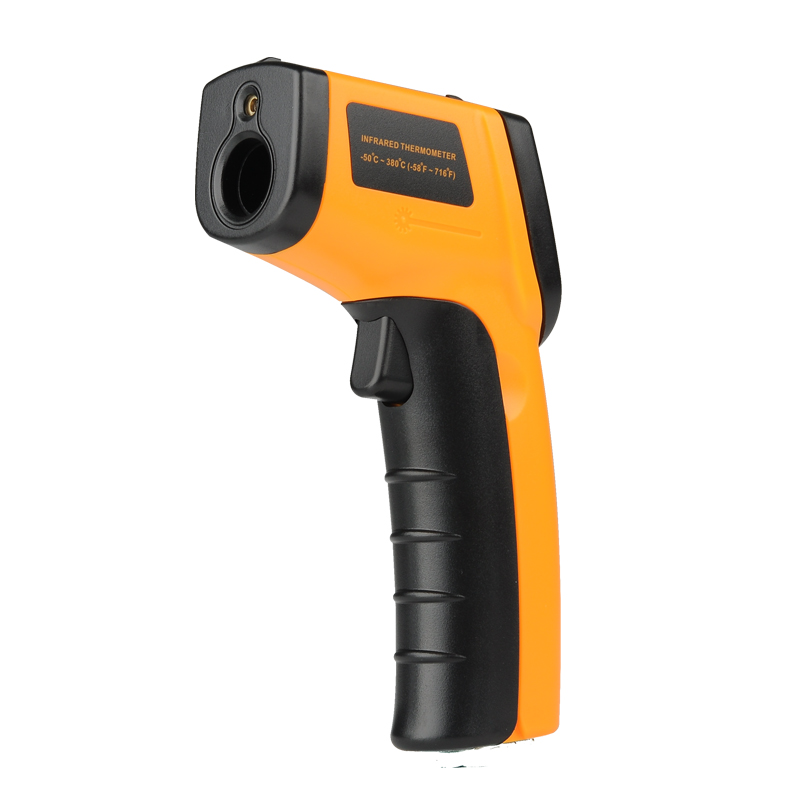 Wholesale Non-Contact Infrared Thermometer (-50 to 380 DegC, LCD Display, Backlight)