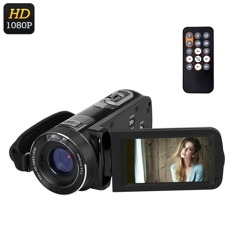 Wholesale Ordo Z8 PLUS 1080p Digital Video Camera (24MP Photo, 16x Digital Zoom, 1/4 Inch 8MP CMOS, Anti Shake)