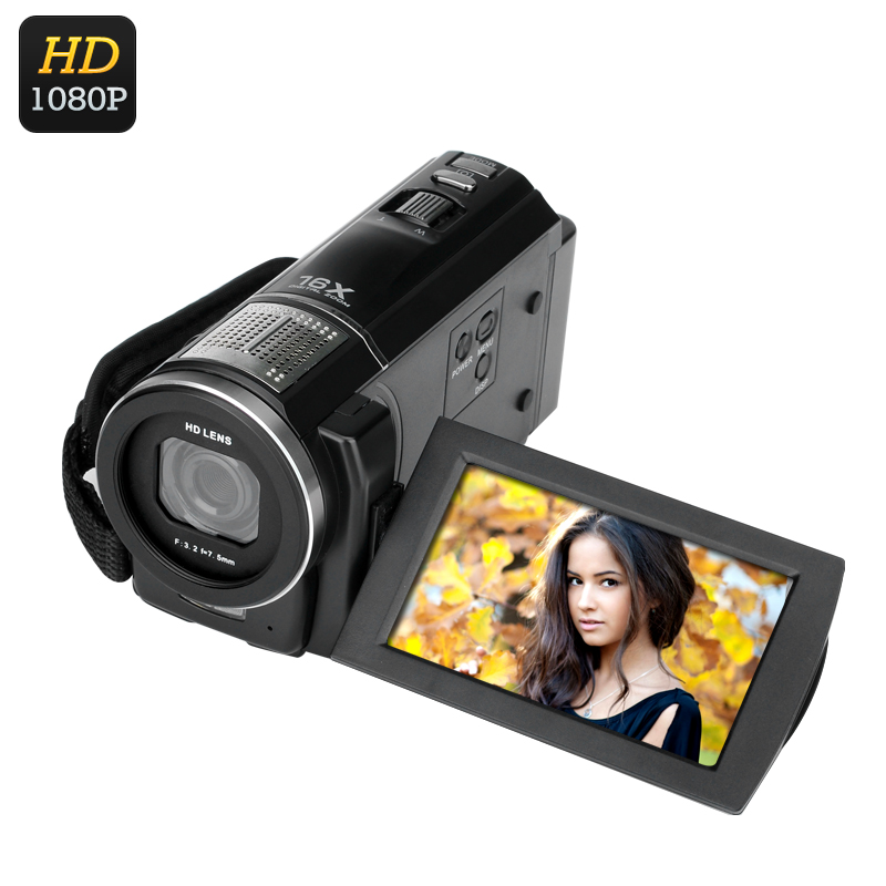 Wholesale Ordro 1080p Digital Video Camera (1/4 Inch 5MP CMOS, 24MP Photo, Anti-Shake, 3 Inch Touch Screen)