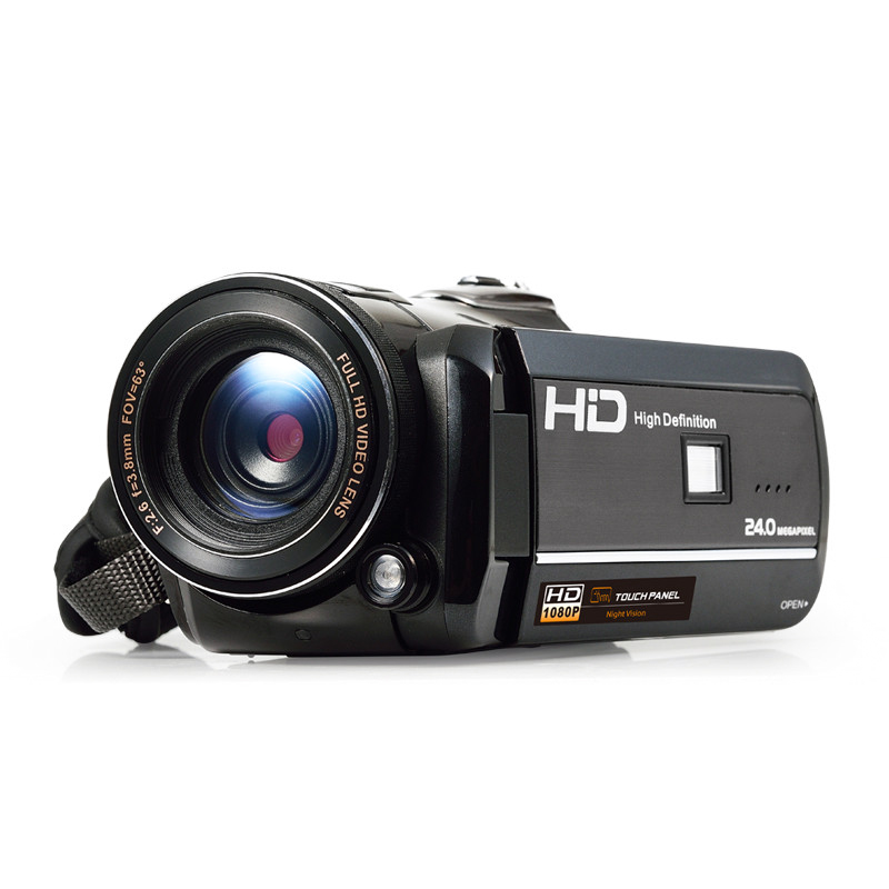 Wholesale Ordro Full-HD 1080p Wi-Fi Video Camera with 3 Inch Touch Screen